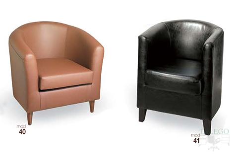 Sofas individuales modelo gh 40 y 41