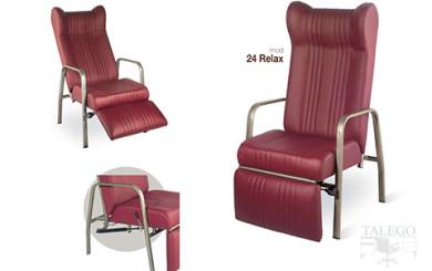 Sofa de descanso modelo gh 24 con base extensible