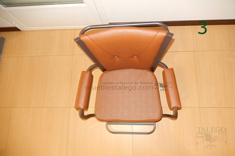 Vista superior silla modelo gh noria