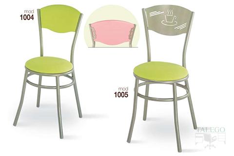 Sillas de bar estructura metalica modelo 1003 y 1004