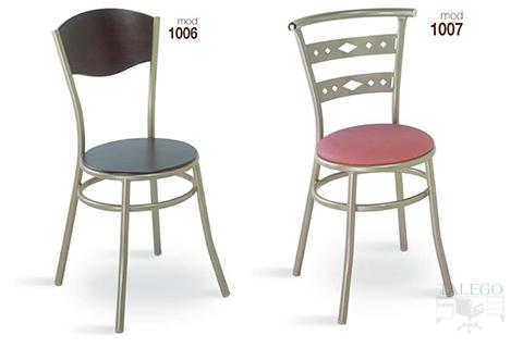 Sillas de bar estructura metalica modelo 1006 y 1007