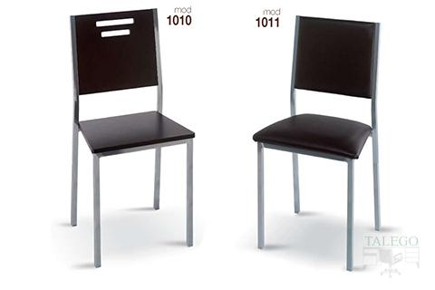 Sillas de bar estructura metalica modelo 1010 y 1011