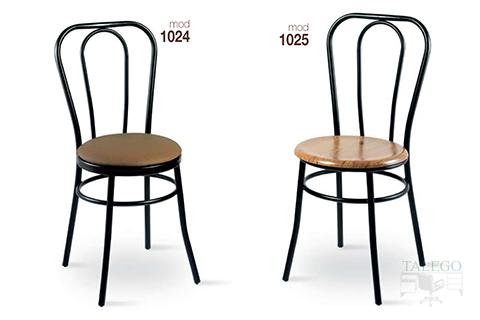 Sillas de bar estructura metalica modelo 1024 y 1025