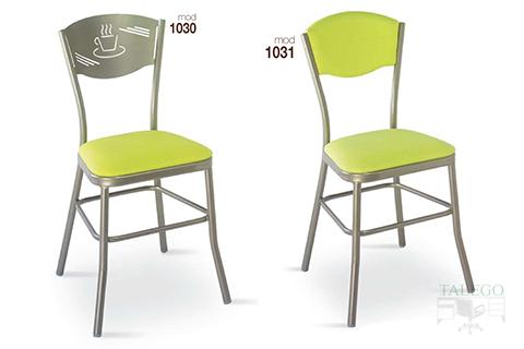 Sillas de bar estructura metalica modelo 1030 y 1031
