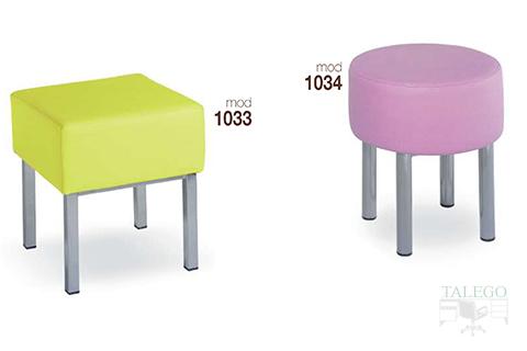 Sillas de bar estructura metalica modelo 1033 y 1034