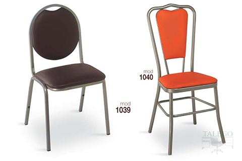Sillas de bar estructura metalica modelo 1039 y 1040