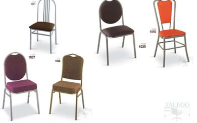 foto representativa de varias sillas metalicas grupo 3