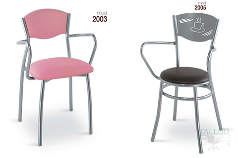 Sillones de bar estructura metalica modelo 2003 y 2005