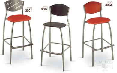 Taburetes de bar metálicos gh modelos 3001,3002 y 3003