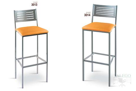 Taburetes de bar metálicos gh modelos 3013 y 3014