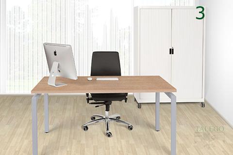 Incorporación de armario de persiana a oficina