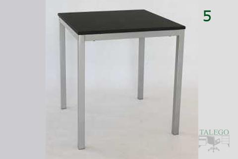 Mesa cuadrada modelo milanota