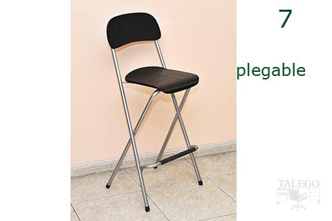 Muebles talego muebles de oficina y hosteler a madrid y toledo mesas y taburetes de bar hf - Taburete bar plegable ...