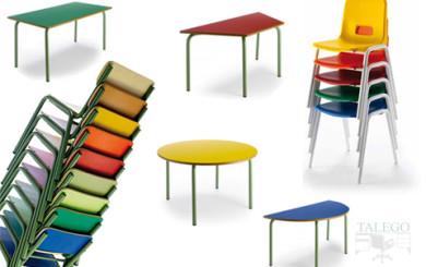 foto resumen con modelos para mesas y sillas infantiles