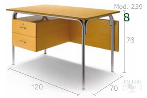 Mesa para profesor de aula en haya modelo me239