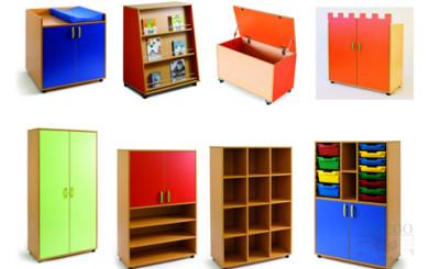 Foto representativa de armarios escolares