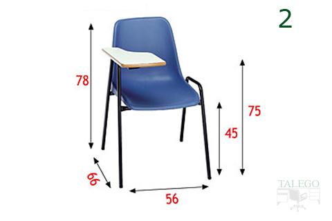Medidas de la silla de carcasa Me monocasco