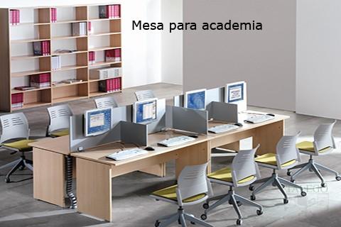 Mesa para academia