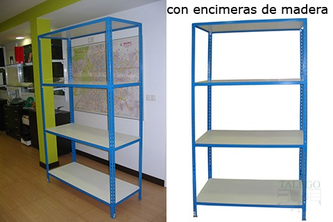 Muebles talego muebles de oficina y hosteler a madrid y - Estanteria sin tornillos ...