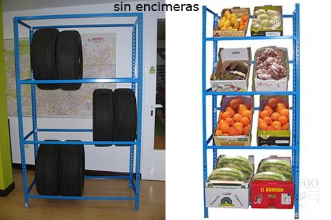 Muebles talego muebles de oficina y hosteler a madrid y - Estanterias metalicas sin tornillos ...