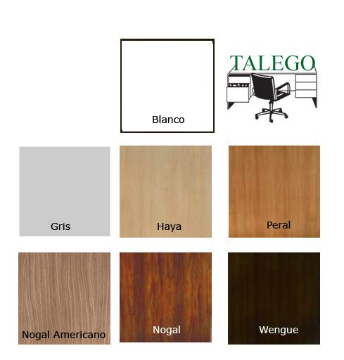 Acabados de colores para maderas