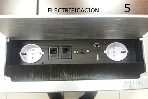 Electrificacion para mesas