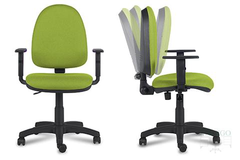 silla de oficina con ruedas