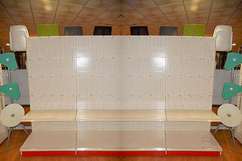 Muebles talego muebles de oficina y hosteler a madrid y toledo estanterias de comercio ka - Ganchos para estanterias ...