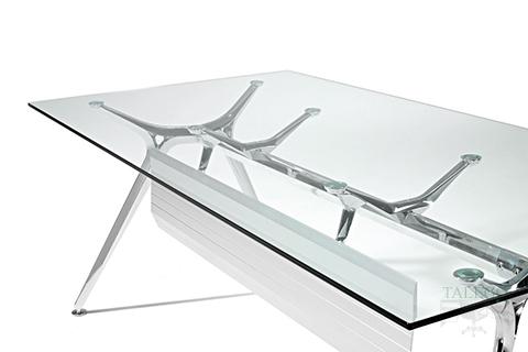 Mesa vital de cristal