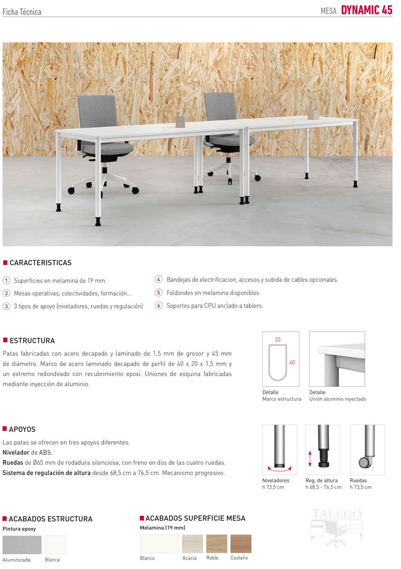 Mesas multifuncion para oficina