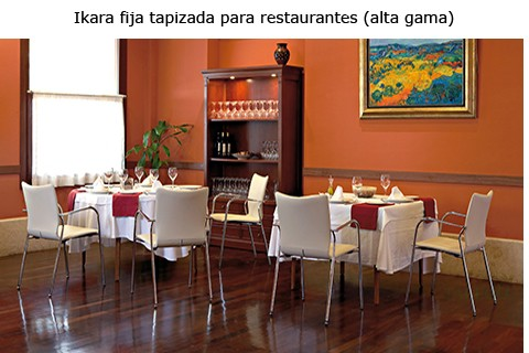 Sillon de diseño ikara para restaurante