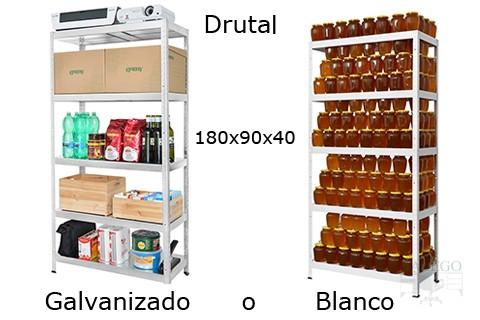 estanteria metalica sin tornillos