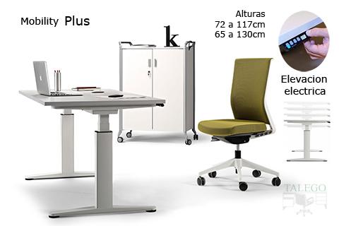 Mesas regulable en altura mobility