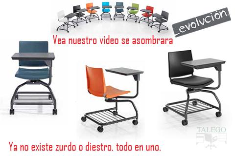 Muebles talego muebles de oficina y hosteler a madrid y for Sillas para zurdos