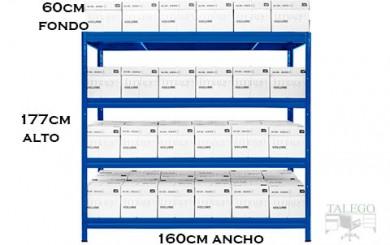 Estanteria metalica sin tornillos heavy rack