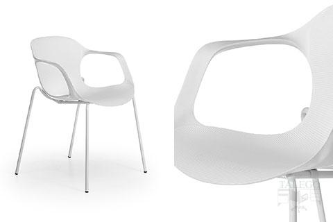 silla bari negra y blanca