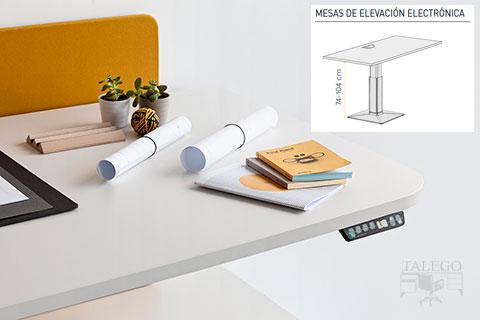 Mesa elevable electrica