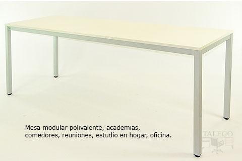 Mesa de reunion modular