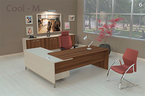 Mesa direccional de oficina