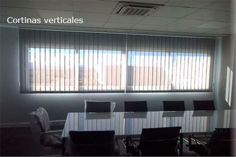 Cortinas para oficina verticales