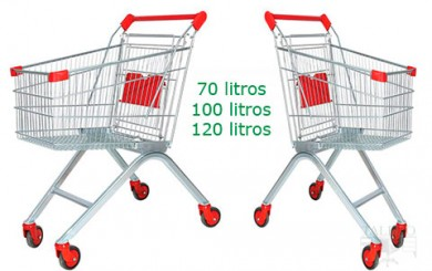carros de compra supermecado con ruedas
